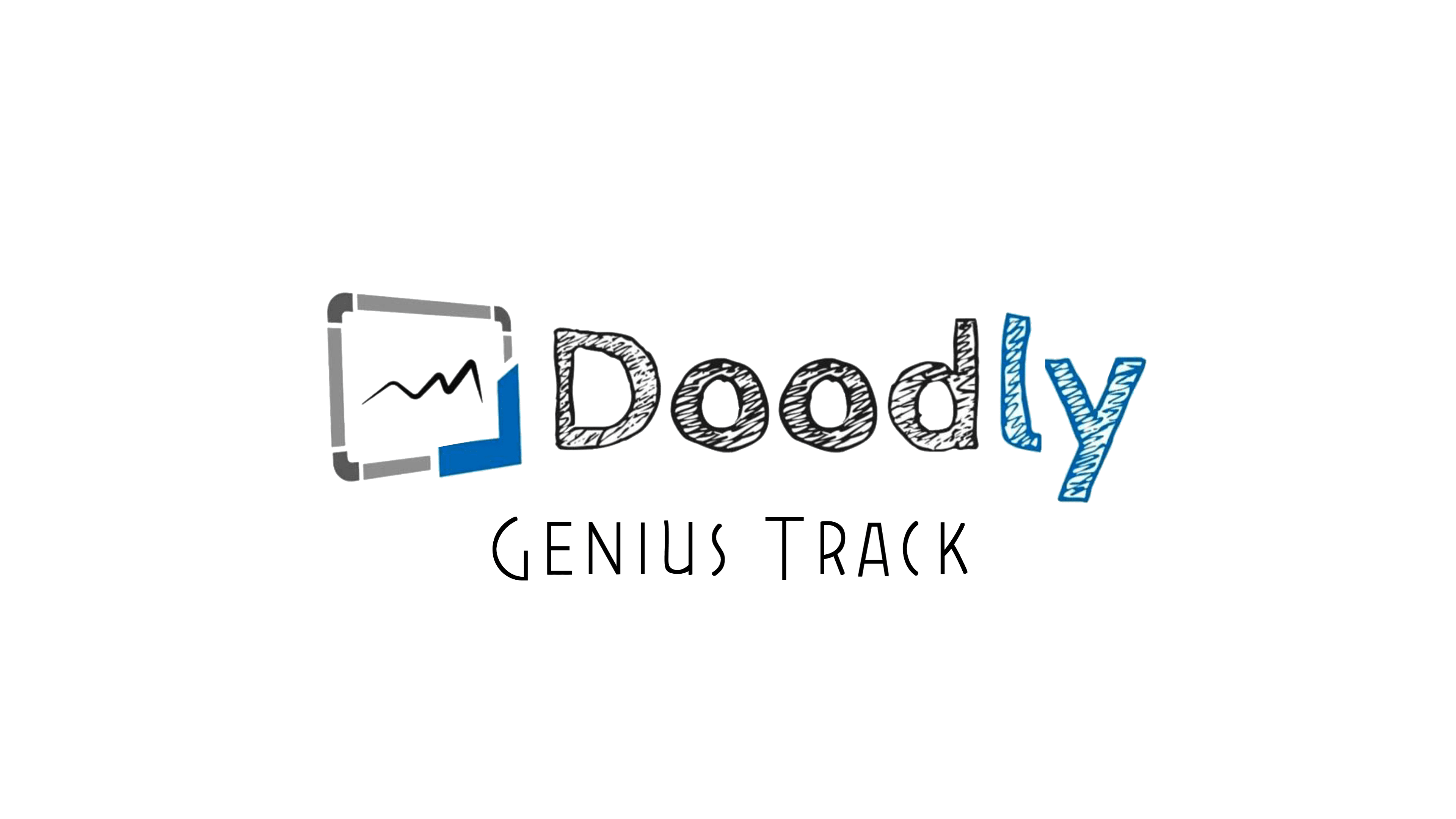Doodly Genius Track Logo
